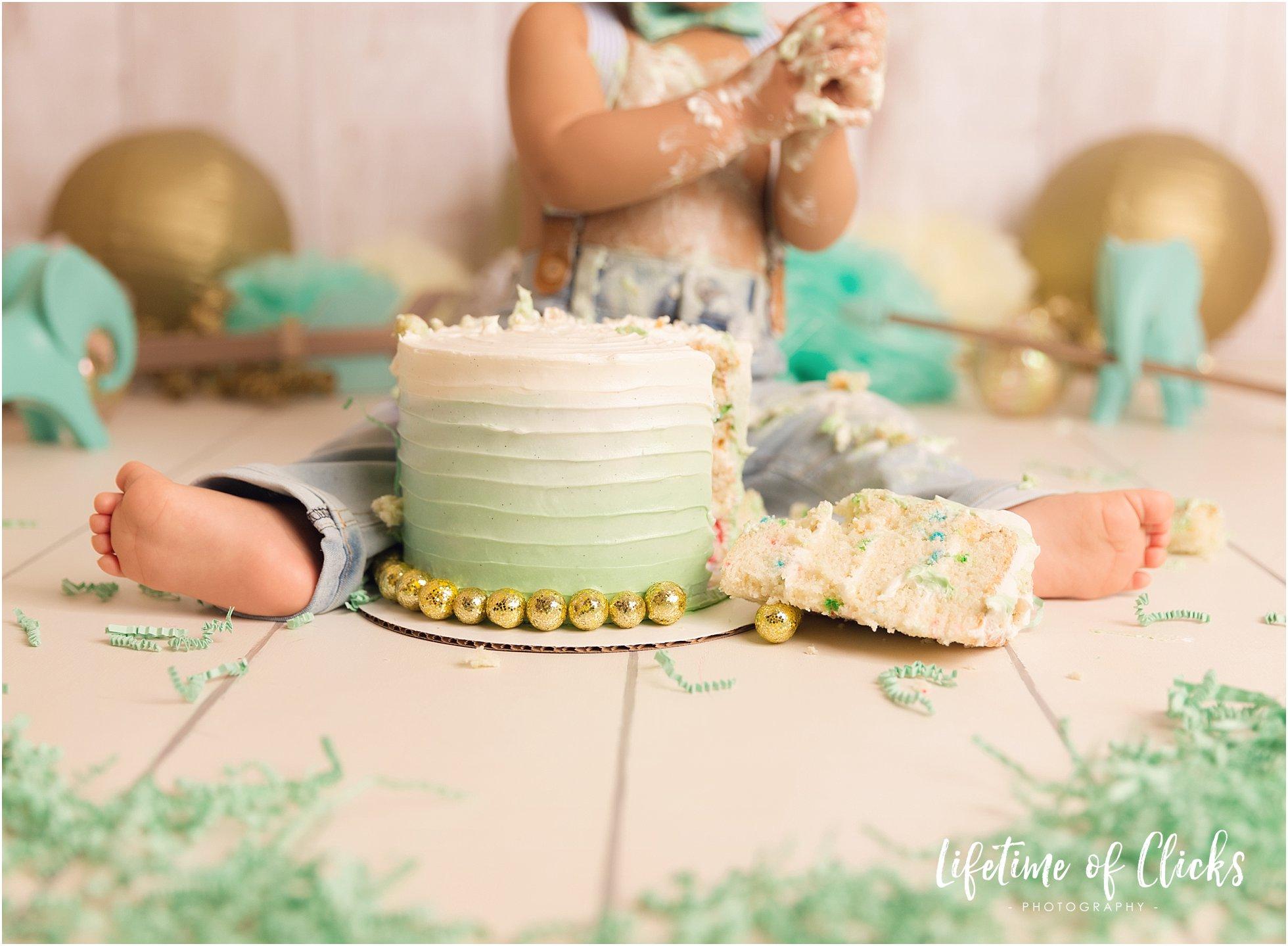 Cake smash set-up ideas