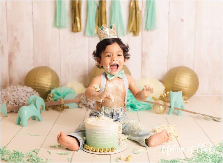 Katy Texas Cake Smash Photographer