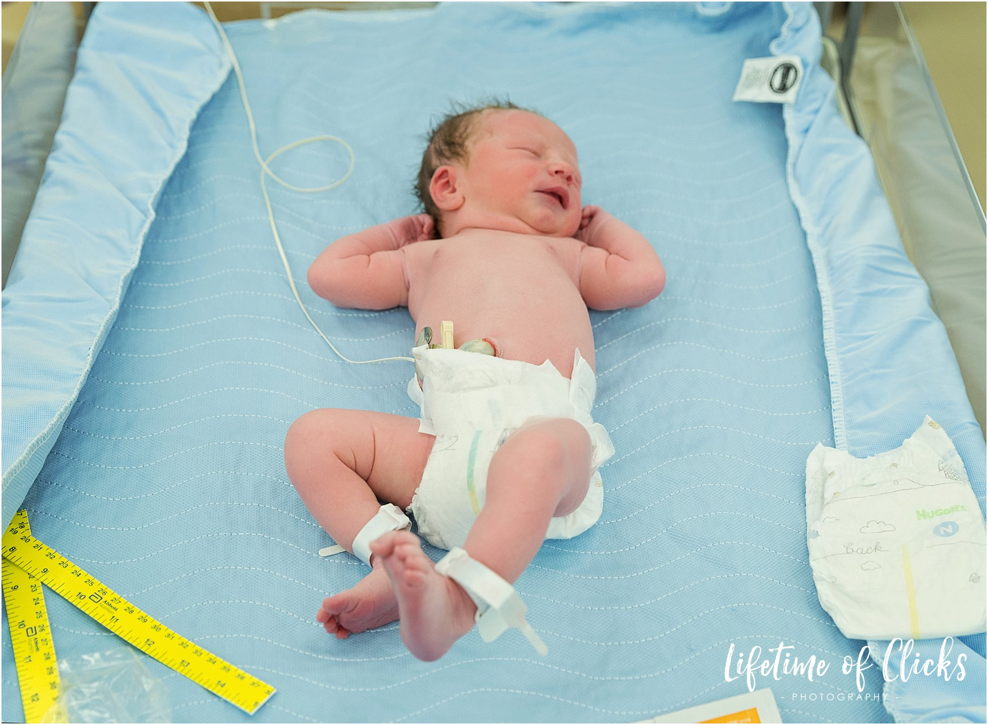 First images of newborn baby boy