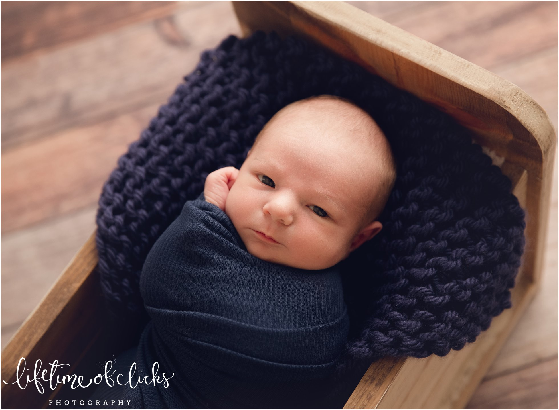 Houston Newborn Photographer Studio located in Katy TX | Photo by Lifetime of Clicks Photography