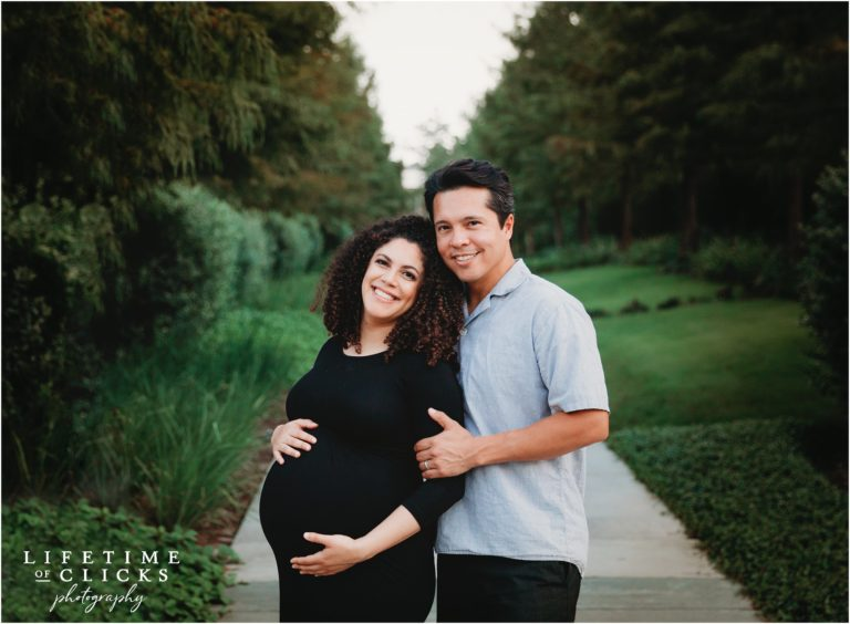 When to take maternity pictures