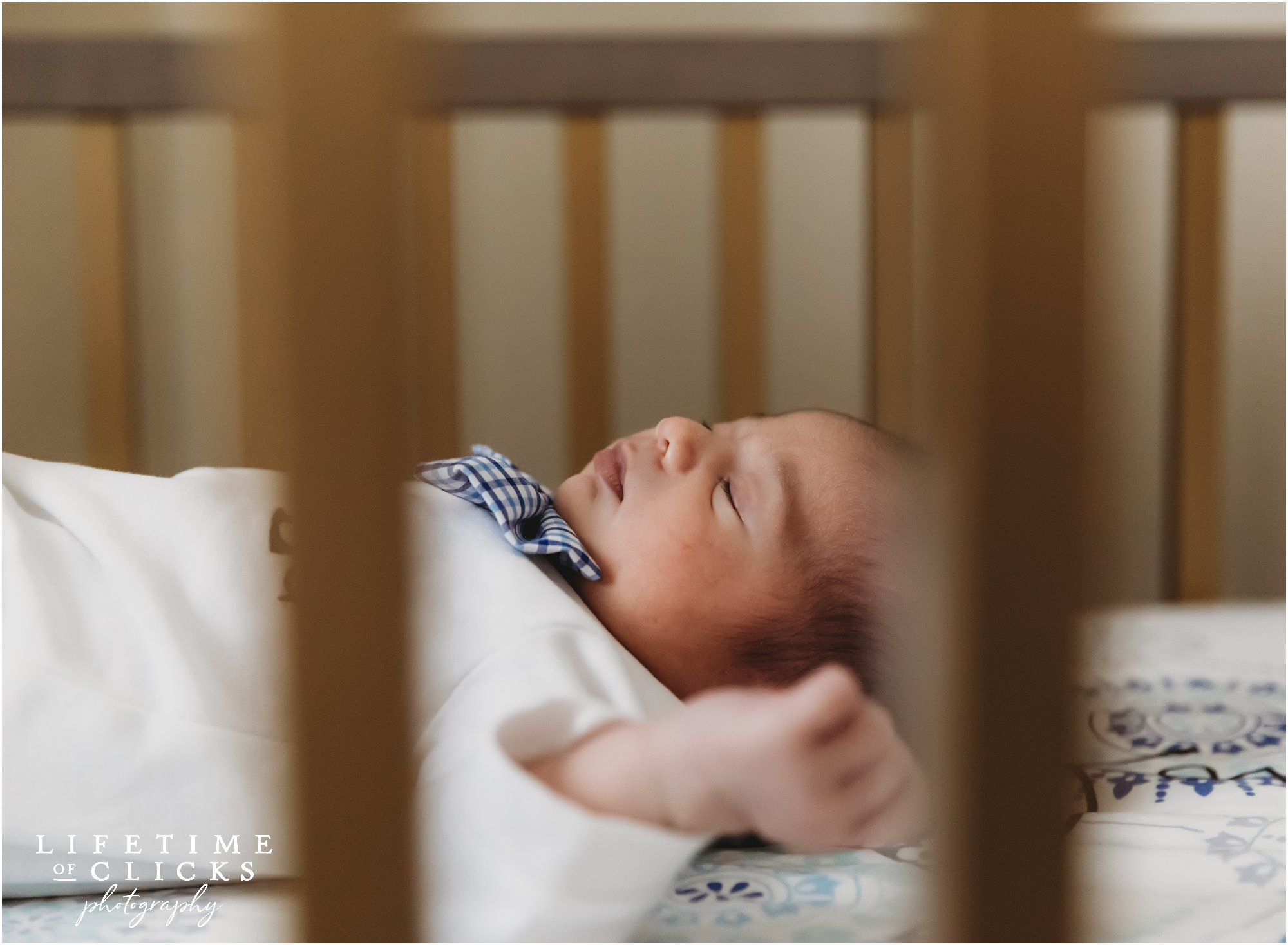 Newborn boy profile