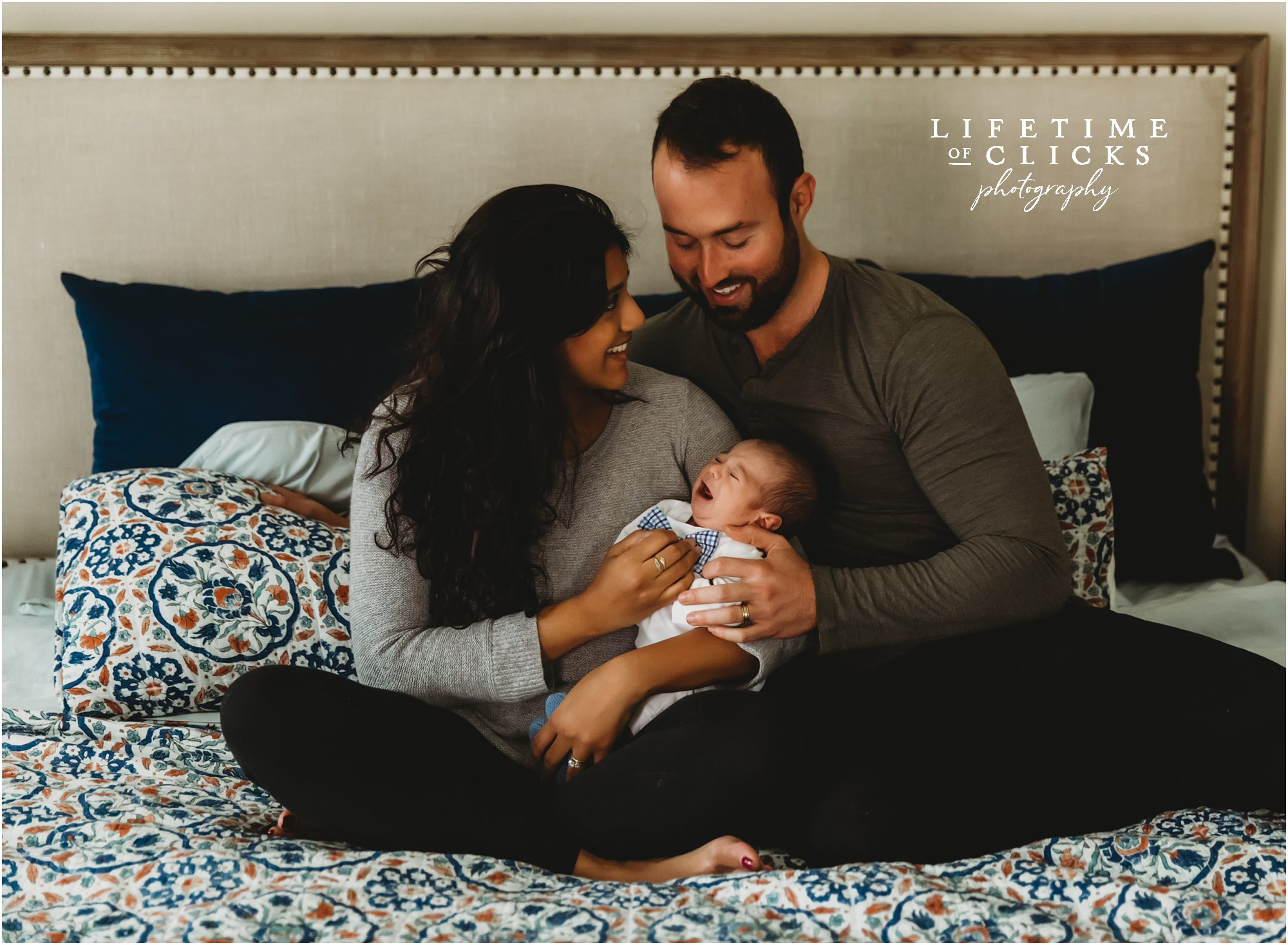 An In-Home Lifestyle Newborn Session