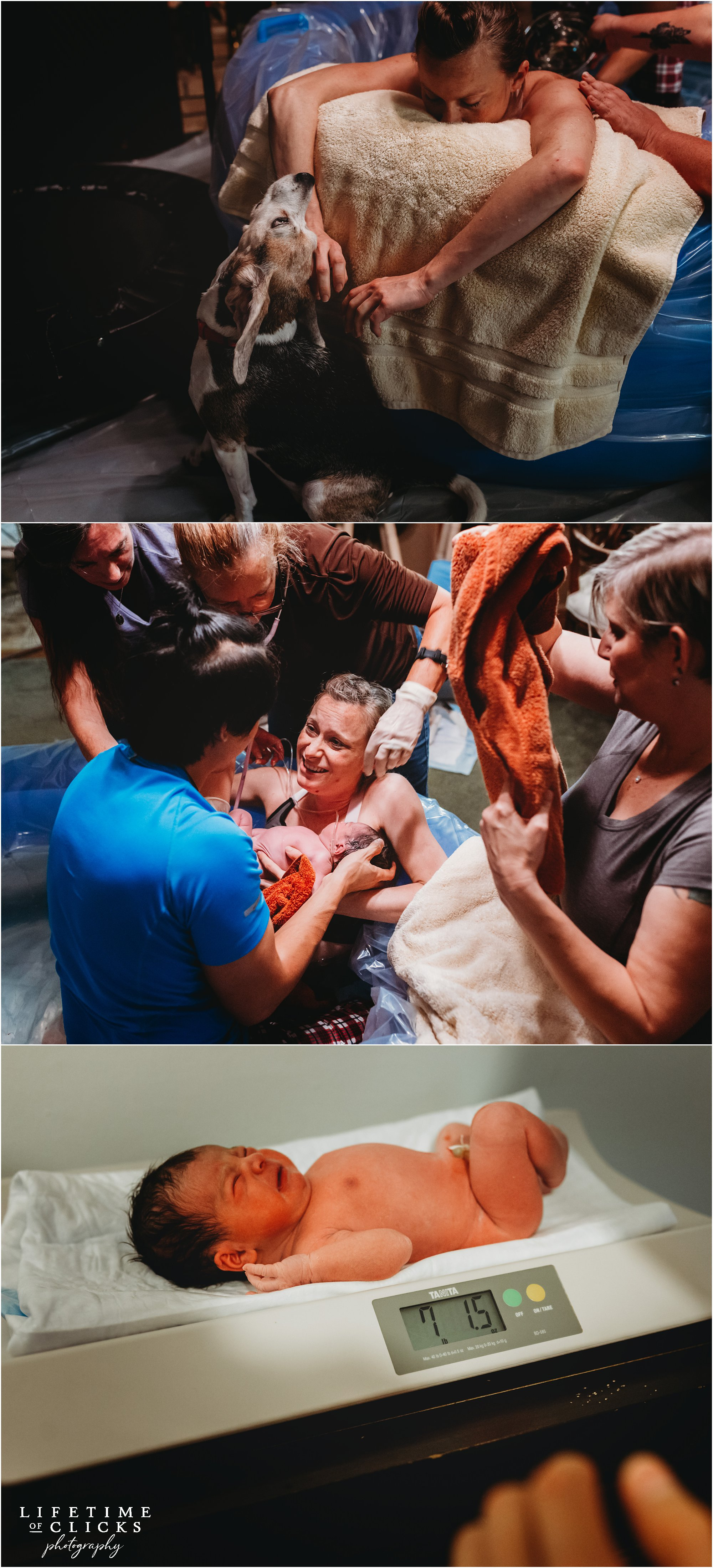 Click to view an amazing Home Birth by The Labor Enabler documented by Lifetime of Clicks Photography | #houstondoula #houstonbirthphotographer #katybirthphotographer #katytx