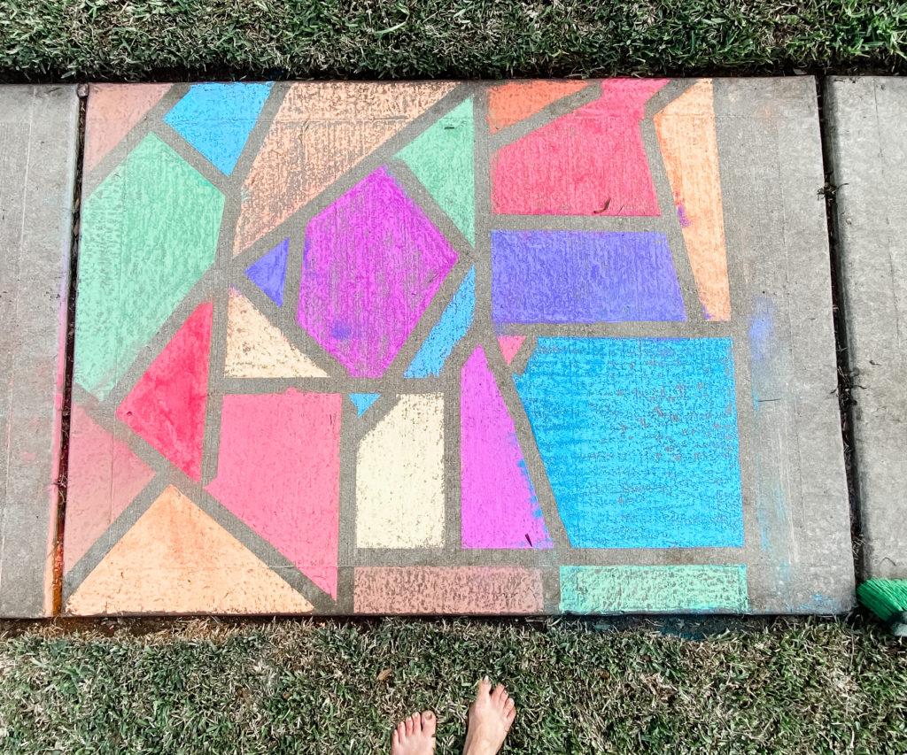 fun_activities_to_do_with_kids_mosaic_art